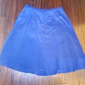 Stephanie Andrews Blue Maci Skirt sz 26w